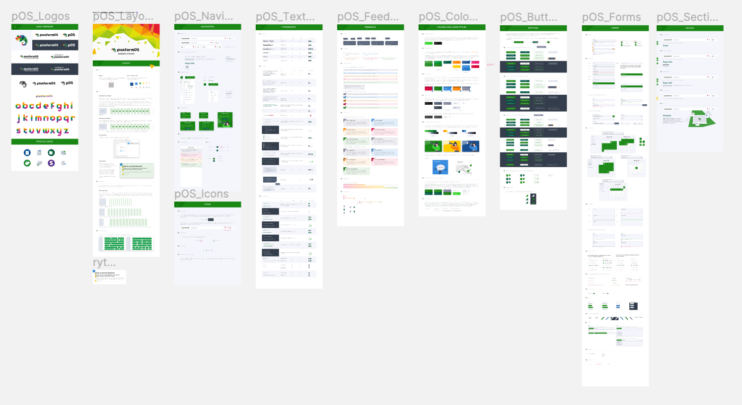 pOS design style guide